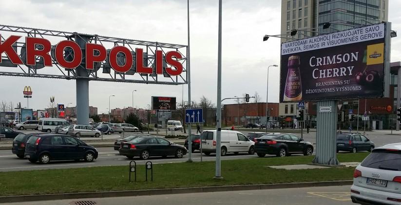 Reklaminiai stendai. Reklaminis stendas Nr.6. Lauko reklama Klaipėdoje.