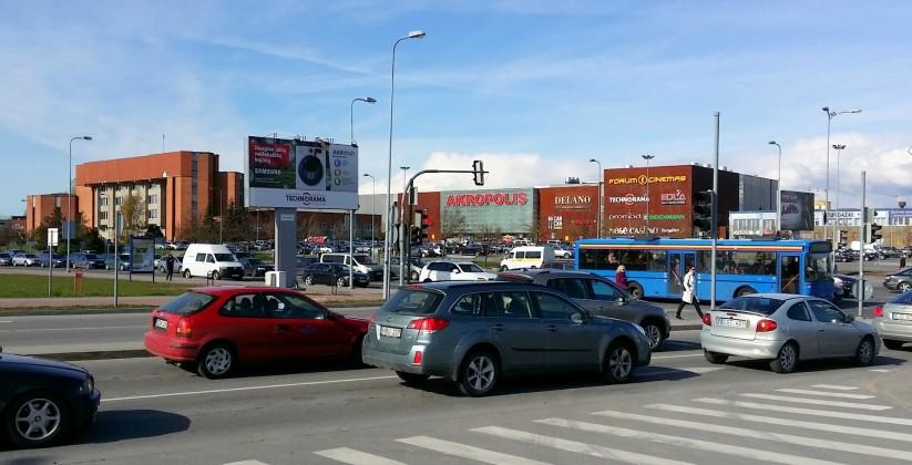 Reklaminiai stendai. Reklaminis stendas Nr.10 (pietinė p.). Lauko reklama Klaipėdoje.