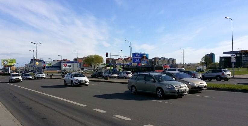 Reklaminiai stendai. Reklaminis stendas Nr.10 (šiaurinė p.). Lauko reklama Klaipėdoje.