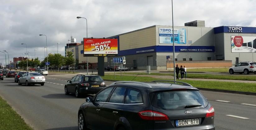 Reklaminiai stendai. Reklaminis stendas Nr.11, 6x3m. Lauko reklama Klaipėda.