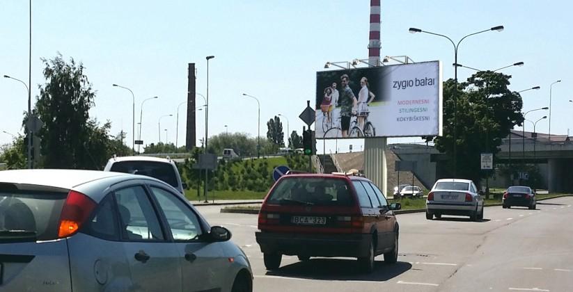 Reklaminiai stendai. Reklaminis stendas Nr.9, 6x3m. Lauko reklama Klaipėda.
