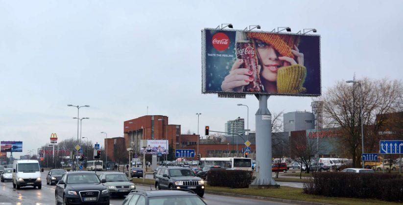 Lauko reklama Klaipėda