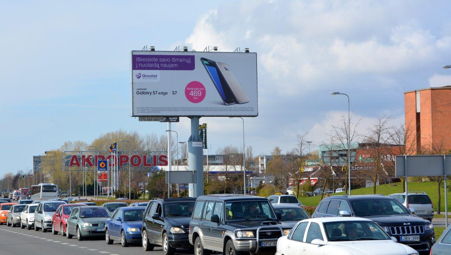 Reklaminiai stendai Klaipėdoje